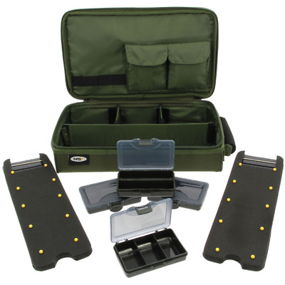 Complete Carp Rig Wallet Station With Rig Board And Tackle Boxes NGT • 20.90£