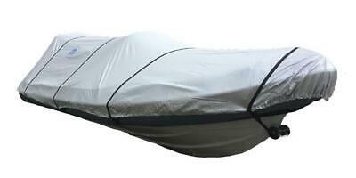 Ducksback Boat Cover 17-19 Ft Rib / Speed / Sport Waterproof Quality (silver)  • 85£