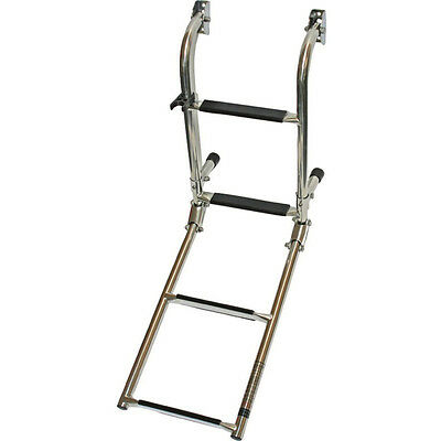 Stainless Steel Swimming Ladder 4 Step / 5 Step For Boat Yacht • 69.95£