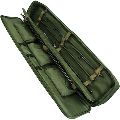 Travel Rod Holdall Travel Rods And Reels Carp Fishing Travel Bag Coarse Carp Sea • 23.06£