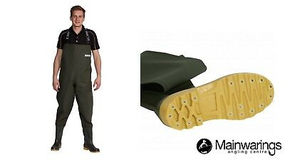 Ocean Deluxe 700g Chest Waders - Studded - All Sizes • 89.99£