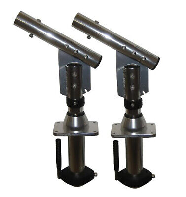 Lees Tackle SW9300 Sidewinder Bolt-On Lay-Down Outrigger Mounts • 1,404.84£