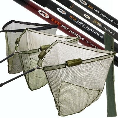Ngt Fishing Net Handle Fishing Nets 36  42  50  Dual Float Net Stink Bag Handles • 39.95£
