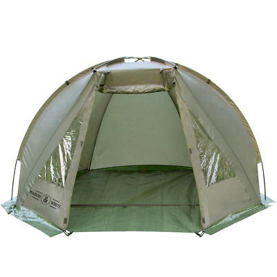 Carp Fishing Bivvy Day Tent Shelter 1-2 Man Lightweight Waterproof Pukkr • 37.99£