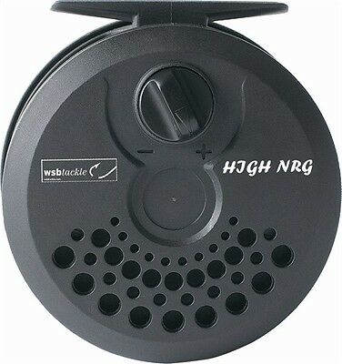High NRG Graphite Fly Reel With Spare Spool    Two Sizes 5/6 And 7/8 • 12.85£