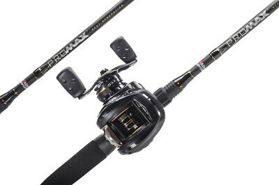 Abu Garcia Pro Max Baitcasting Combo Left Handed Reel • 85.99£