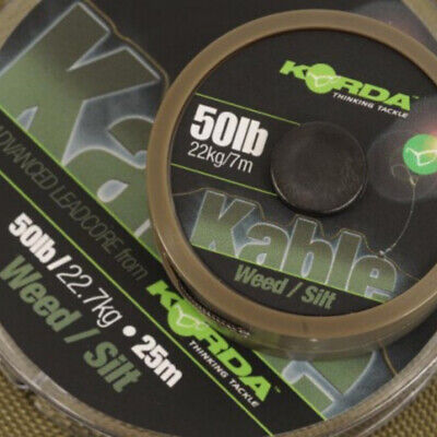 Korda NEW Kable Leadcore -*All Colours & Lengths Available*- Carp Fishing • 17.99£
