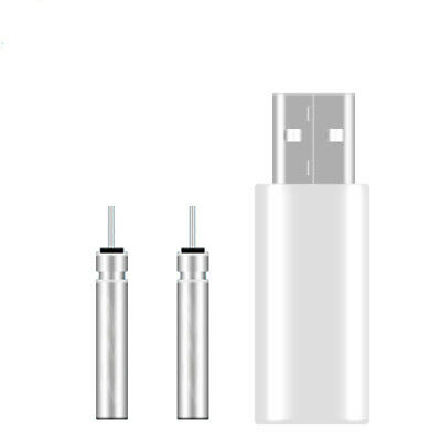 CR425 USB Battery Charger 2pcs Rechargeable Batteries For Fishing Rod Tip Light • 5.99£