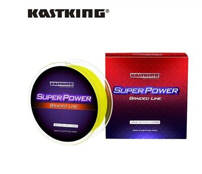 KastKing SuperPower Braided Line 300m Spool For Sea Fishing Coarse 15LBS- 40LBS • 8.99£