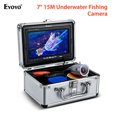 Eyoyo 7  15M Underwater Fishing Camera Fish Finder 1000TVL For Lake Boat Sea • 86.79£