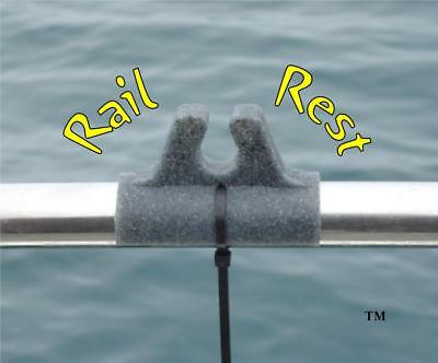 RAIL REST THE ULTIMATE BOAT ROD REST HOLDER With FREE UK Postage • 6.94£