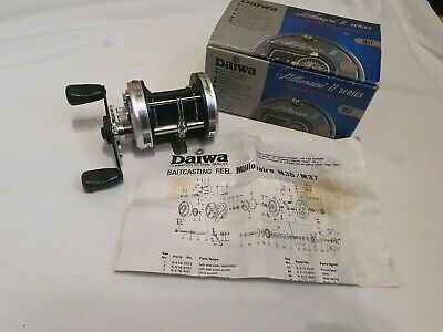 Daiwa Millionaire 2  SERIES REEL **BOXED WITH PAPERWORK** • 95£