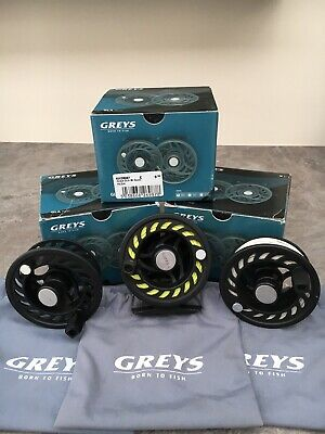 Greys GLA80  #2,3,4  Reel And Two Spare Spools • 19.10£