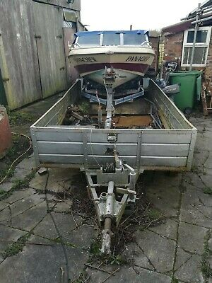 Speed Boat With Trailer And 90 Horse Power Yamaha Engine.  • 2,000£
