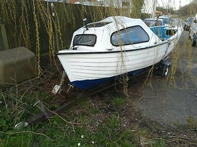 16ft Fishing Boat With Trailer And 4 Horse Power Engine • 700£