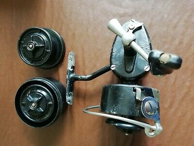 VINTAGE MITCHELL 300 FISHING REEL With 2 Spare Spools • 16£