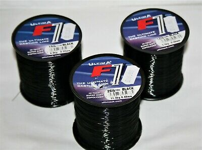 Ultima F1 Fishing Line Black 4oz Spools • 7.50£