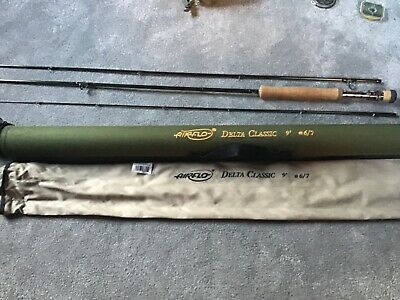 Airflo Delta Classic  9ft  #6-7weight Fly Rod • 15£