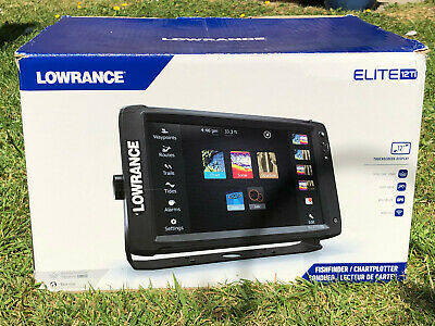 Lowrance Elite 12Ti With TotalScan Transducer • 1,500£