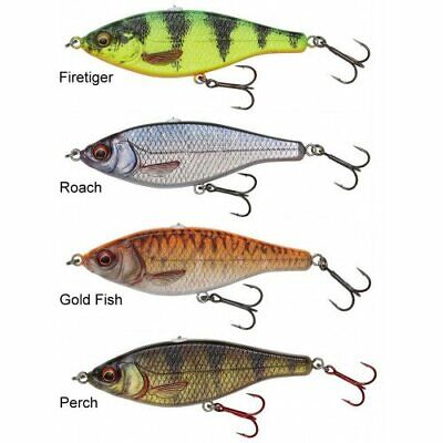 Savage Gear 3D Roach Jerkster PHP Slow Sink Ready To Fish Lures - Bargain • 7.95£