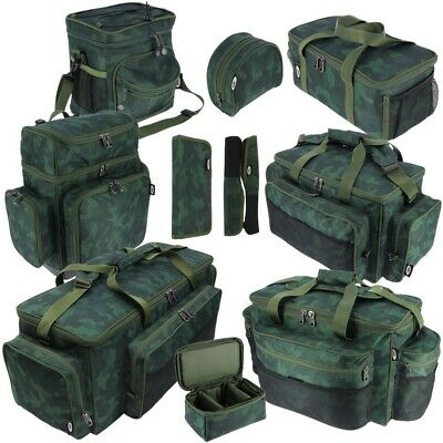 Ngt New Fishing Bags Carryalls Bait Tackle Bags Large Holdalls Camo Ngt Range  • 31.95£
