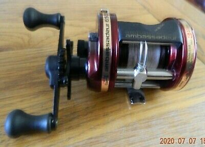 Mint Abu 6500 C3 2 Speed Ultra Cast Multiplier Fishing Reel Boxed With Paperwork • 41£