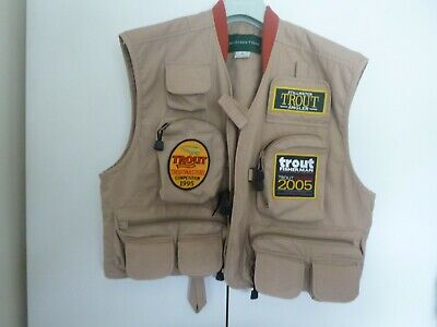 Redington Colorado Fly Fishing Vest, Very Little Use, In Excellent Condition.   • 35£