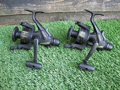Daiwa Regal X 4550 Brt Baitrunner Reel X2 Used Carp Barbel Fishing Reel • 80£