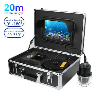 9  Screen Recorder 360° Video Underwater Camera Fish Finder 20LED Waterproof 20m • 338.44£