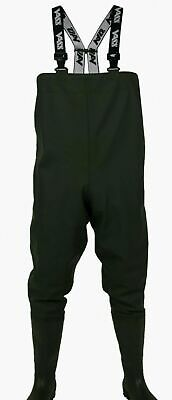 VASS TEX Performance Waterproof Fishing Chest Waders (600 Series) VA600-70 • 45£