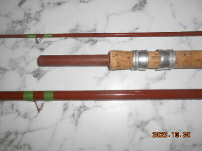 Woolworth  Kingfisher 3pce Hollow Glass 11ft Float Rod • 48£