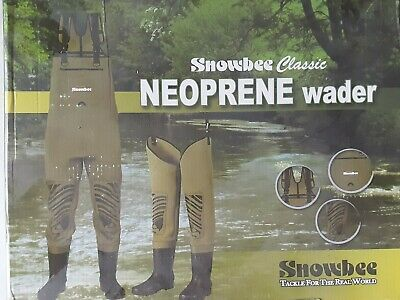 Snowbee Chest Waders UK Size 11 • 40£