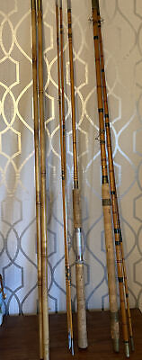 Vintage Split Cane Rods And Split Cane Bank Sticks  • 40£