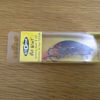 Storm Mid Wart  5cm Lure - NEW. • 5.99£