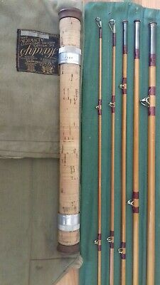 Vintage Extremely Rare Hardy Travellers Split Cane Rod • 595£