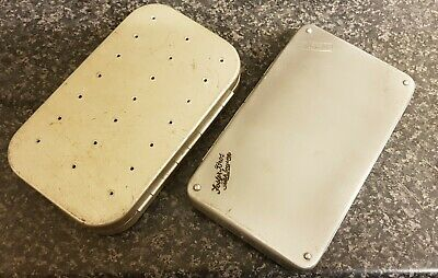 2 Vintage Wheatley Fly Boxes Fosters Kilroy & Ventilated.  • 49£