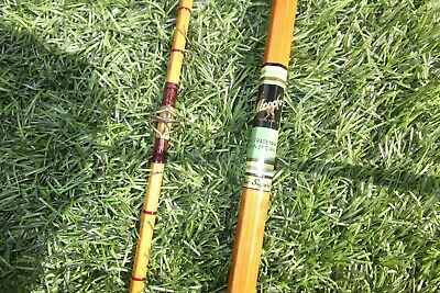 Alcocks  10ft Split Cane Rod Near Mint   The Superb  • 165£