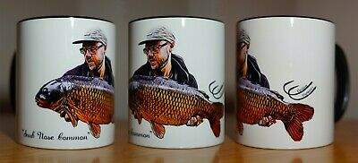 Custom Captures Personalised Fishing Mug Cup Carp, Pike Tackle. Unique Gift • 14£