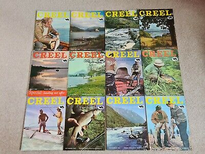 Vintage Creel Fishing Magazine 1965 Set • 120£