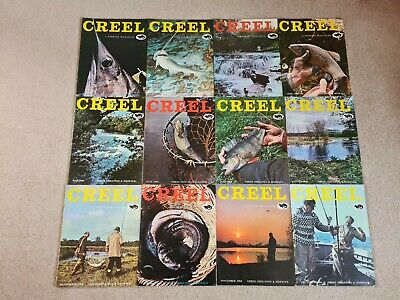 Vintage Creel Fishing Magazine 1964 Set • 120£