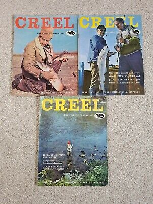 Vintage Creel Fishing Magazine 1967 • 30£