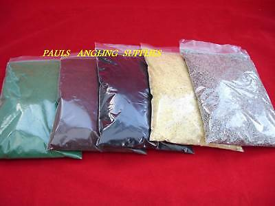 5 Assorted Fishing Weight Mould Lead Coating Powders  • 12.68£