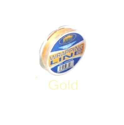 Fishing Rod / Ring / Eyes Whipping Thread 25 M Gold / Yellow • 4.87£