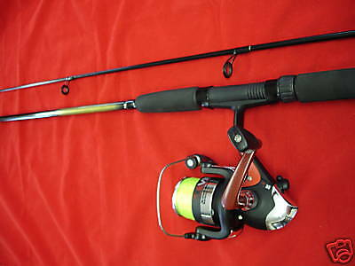 6 Ft Spinning / Spin Rod - Fishing Reel Inc Line -  New • 26.57£