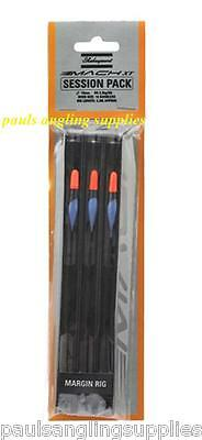 Shakespeare Mach Margin Session Pack Of 3 Pole Fishing Float Rigs Carp • 6.30£