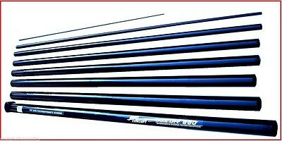 8 Metre  Quick Fish Ambassador  Starter Fishing Pole 12 Elastic Fitted • 39.88£