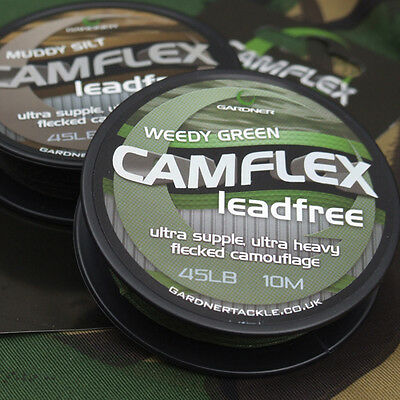 Brand New Gardner Camflex Leadfree - All Colours Available • 11.48£