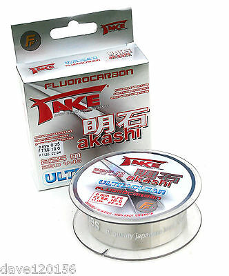 Take Akashi Fluorocarbon 50m/100m/225m Spools All Sizes Available • 15.85£