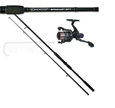 Oakwood 6FT Spinning Fishing Rod & R30 Reel With Line Combo Coarse Carp Spin • 16.88£