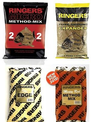 Brand New Ringers Groundbait & Method Mix - All Types Available • 3.99£
